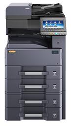 Kopiowanie i drukowanie z prędkością 30 stron A4 na minutę nie stanowi problemu dla tego cyfrowego systemu. Wielofunkcyjność dostępnych opcji pozwala na skanowanie i faksowanie w formacie A3, a automatyczny podajnik dokumentów, moduł pracy dwustronnej czy też finisher powodują że staje się niezastąpionym urządzeniem w każdym biurze.         Kserokopiarka + drukarka sieciowa  skaner, kolorowy wyświetlacz
