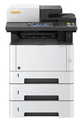 Kopiarka cyfrowa z opcją drukarki Utax P 4026iw MPF 40 str/min.  Ta kompaktowa kopiarka A4 jest idealnym uzupełnieniem podstawowego stanowiska komputerowego. Wydajny druk, ADF, możliwość podłączenia do sieci - maszyna posiada wszystkie niezbędne funkcje potrzebne do nowoczesnego biura.
